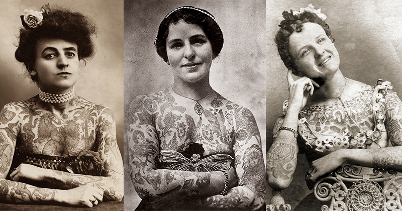 13 Tattooed Victorian Ladies  With Cooler Inks Than Yours
