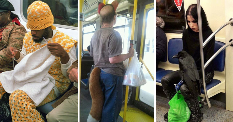 30 Strange People on Public Transport