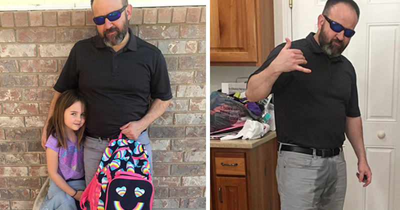 Dad Wets His Pants To Support His Six-Year-Old Who Peed Herself In Class