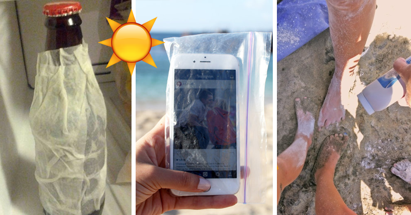 30 Hacks That Are Amazing For The Beach And The Summer
