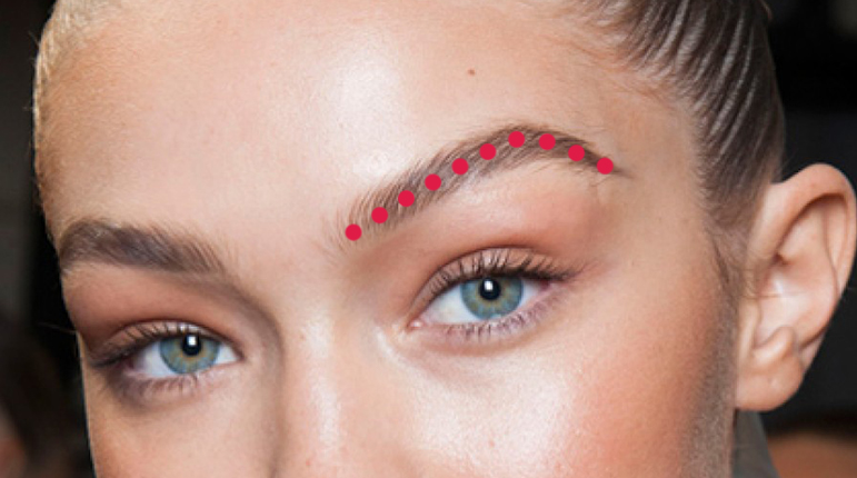 how to get high arched eyebrows