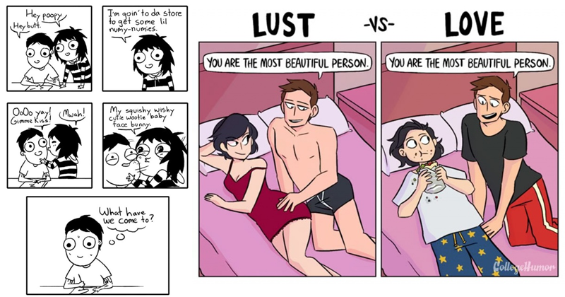 20 Hilarious Comics About Long-Term Relationships
