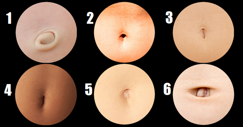 What The Shape Of Your Belly Button Says About Your Personality