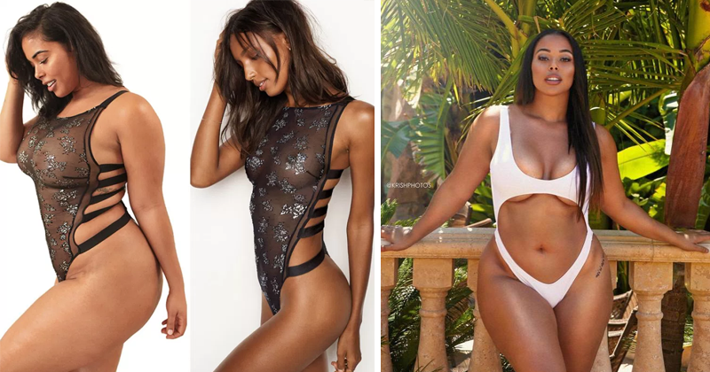 Curvy Model Recreates Victoria's Secret Catalog To Challenge Beauty Standards