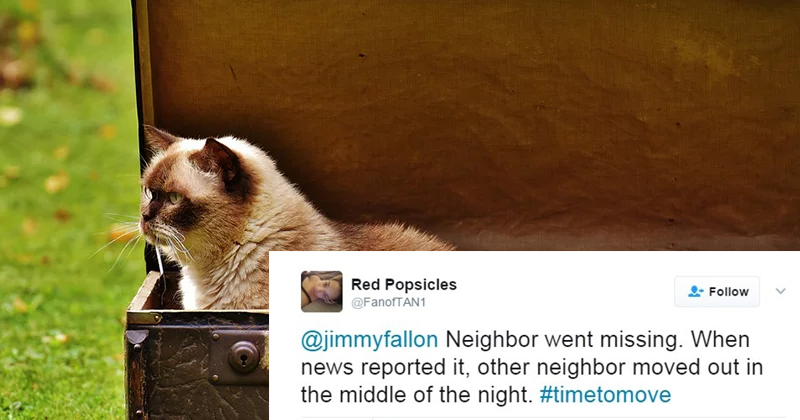 20+Hilarious Stories Of People Realizing That It's #TimeToMove