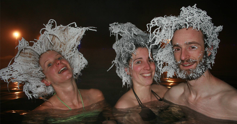 You Now Know That There's Annual Hair Freezing Contest In Canada