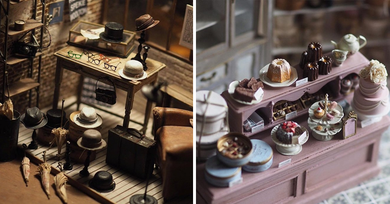 Your Doll House Will Never Look As One Made By This Japanese Artist