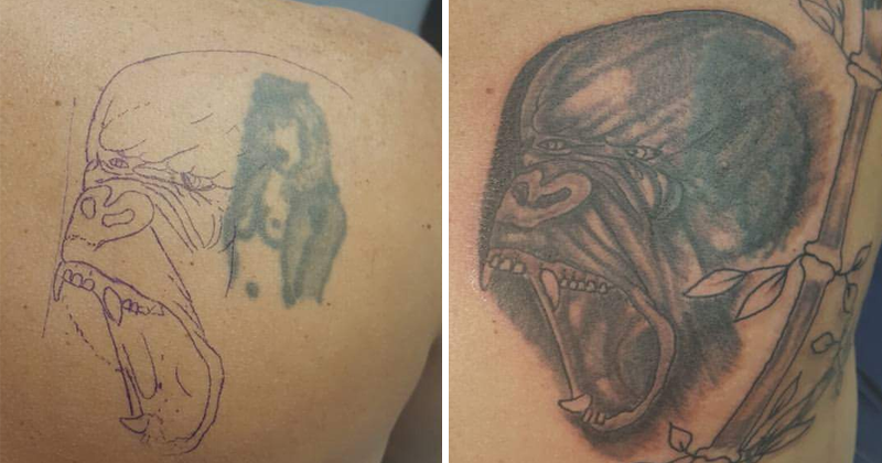 10 Tattoos That Have Been Covered Up For Worse
