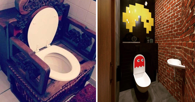10+ Toilet Designs You'd Be Delighted To Squat On