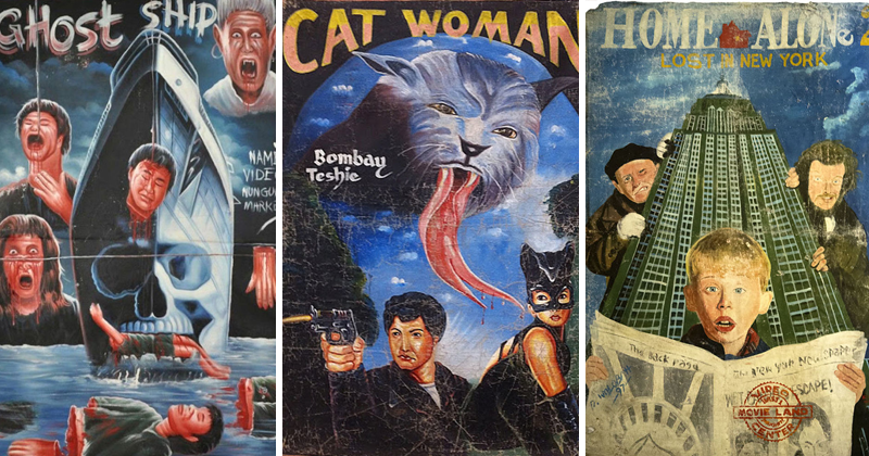 African Artists Hand Drew These Movie Posters And They're Amazing