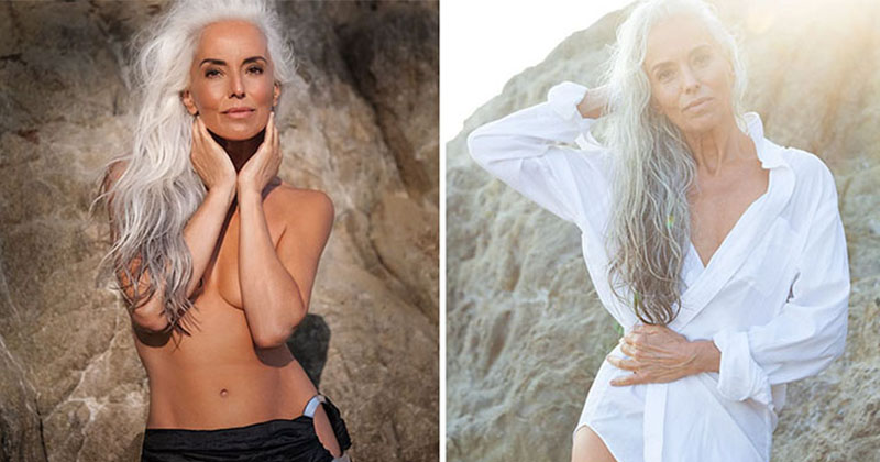 61 Year-Old Swimwear Ad Star Reveals Her Secrets