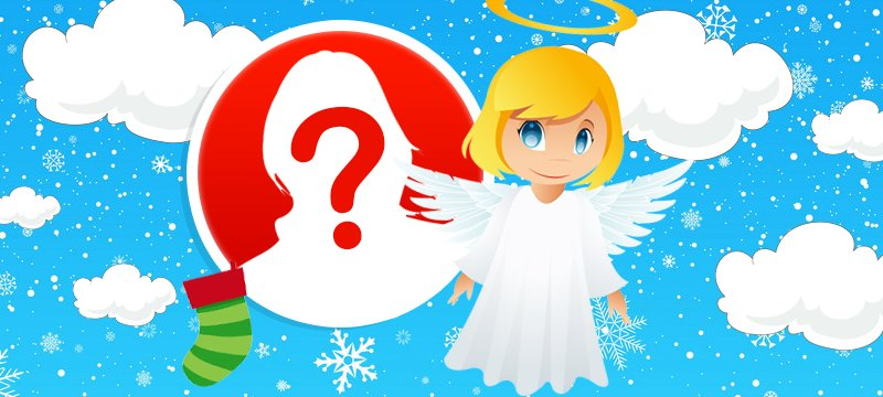Which Angel Wants To Wish You Merry Christmas?