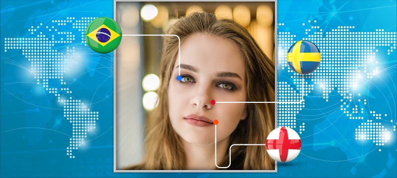 What Nationalities Does Your Face Reflect?{GIF}